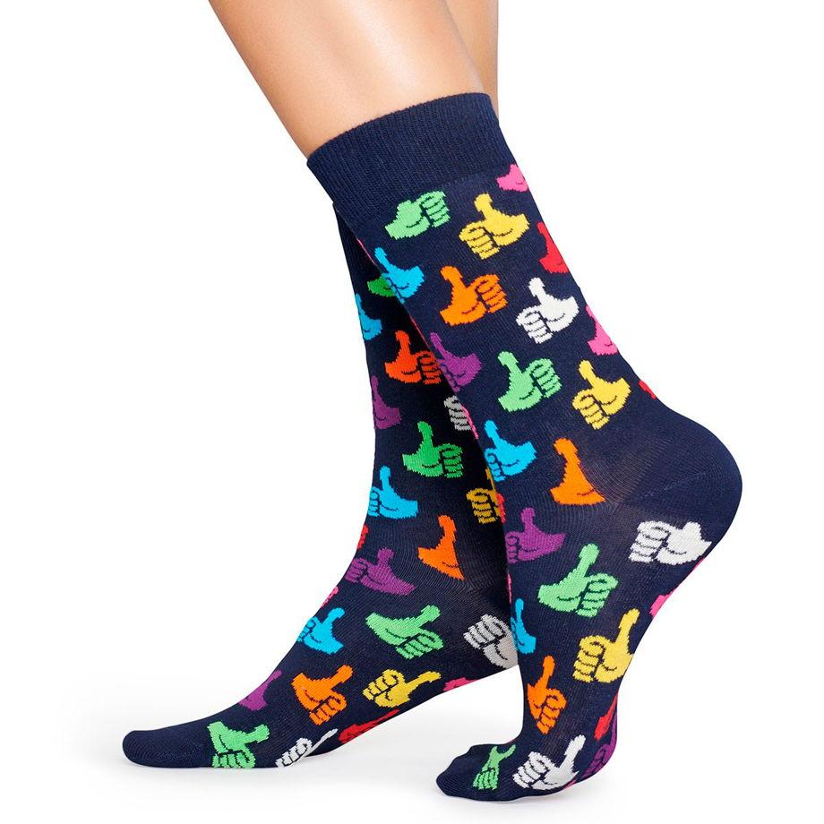 Носки с узором Happy Socks Thumbs Up - Multicolor