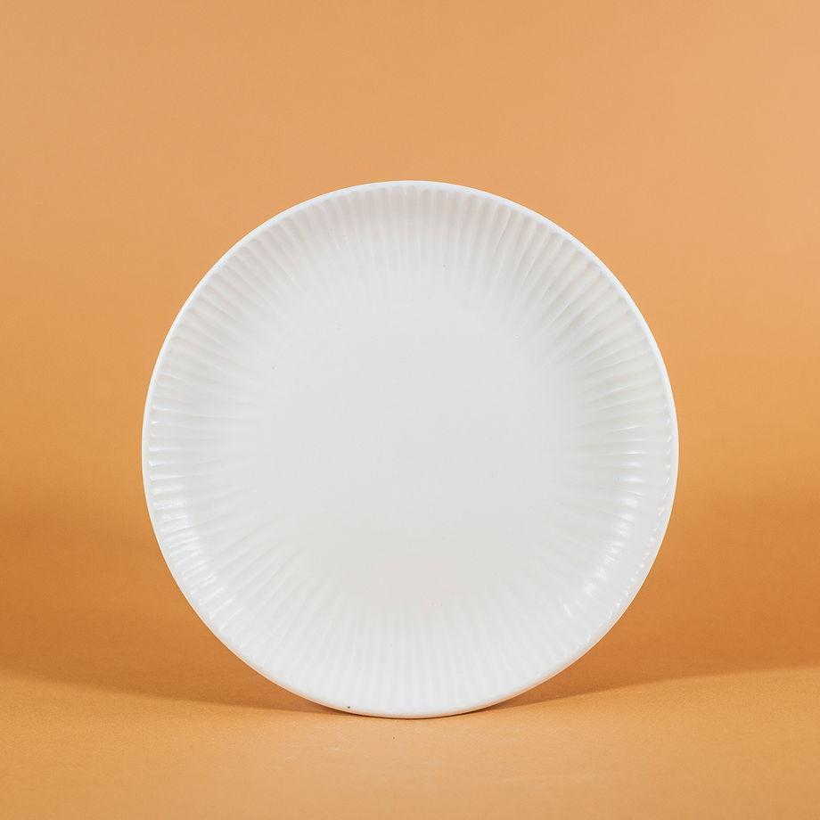 "Тарелка ""Seafruit"" белая, 20 см"