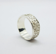"Серебряное кольцо ""Алатырь"""