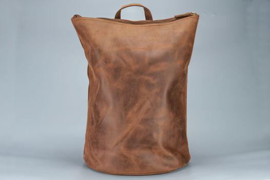 """Коричневый кожаный рюкзак """"Fellow Terracotta"""""""