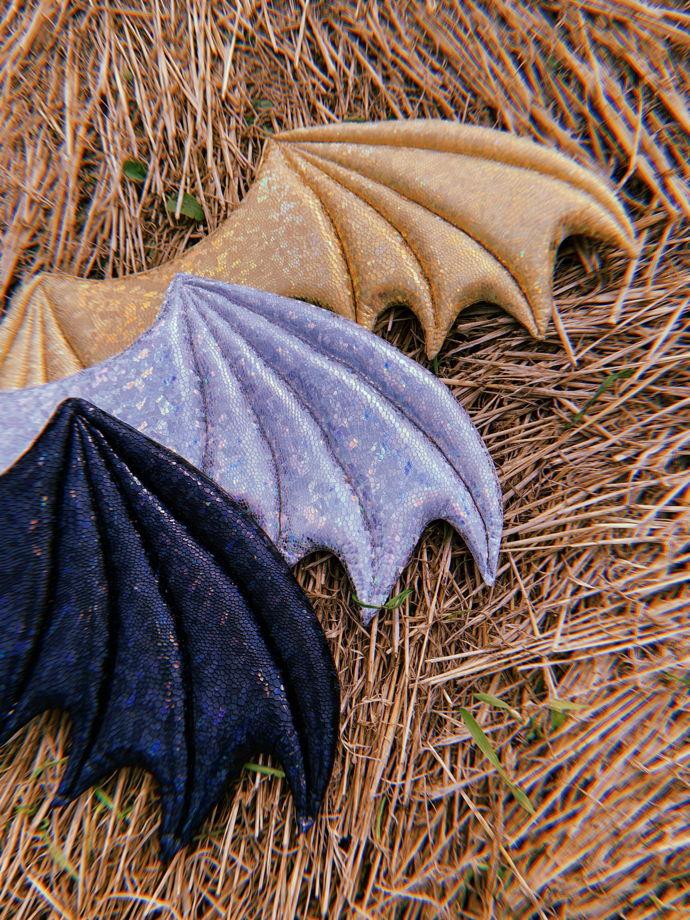 Крылья Дракона, ручная работа