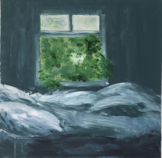 Утро | Acrylic on Canvas | Morning | 50*50 Картина, акрил на холсте, абстракция