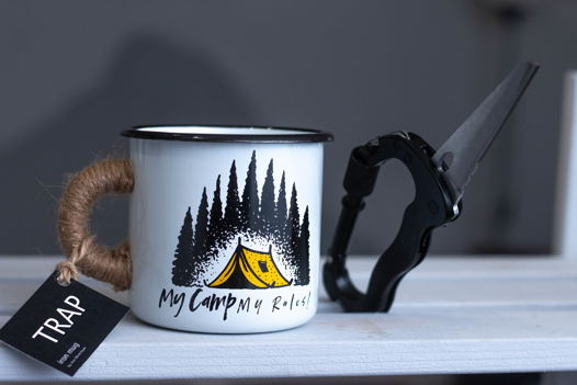 """Эмалированная кружка TRAP """"Camp"""""""