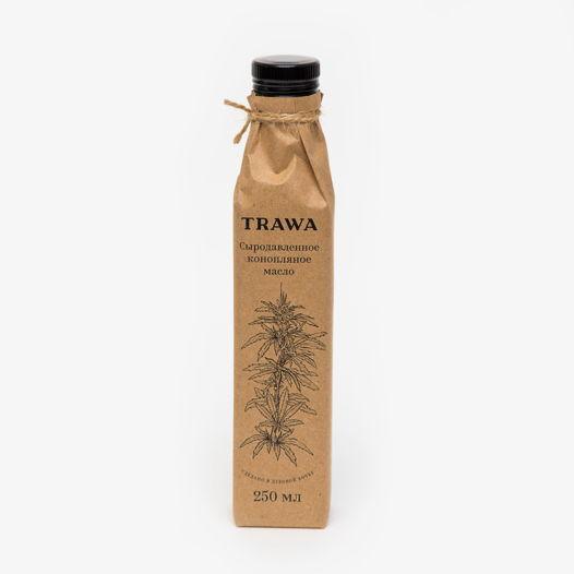 Сыродавленное конопляное масло TRAWA, 250 мл