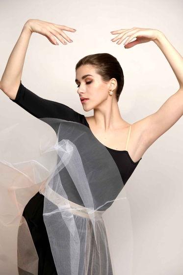 Репетиционная юбка-шопенка basic для танцев / хореографии