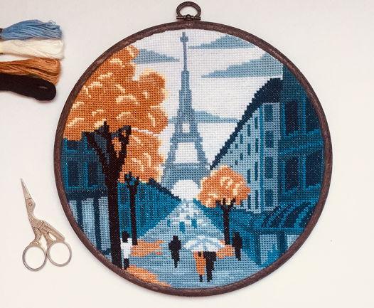 Настенное панно «Осень в Париже»