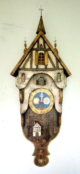 """Часы настенные """"Старый город"""""""