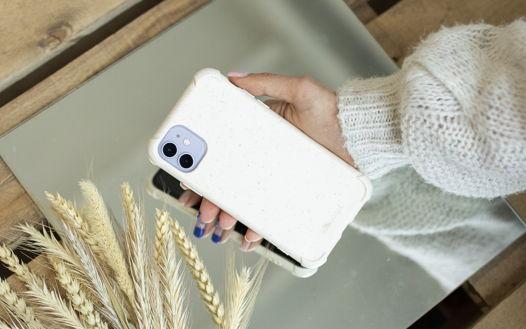Биоразлагаемый чехол SOLOMA для iPhone 11 Пшеница Бампер