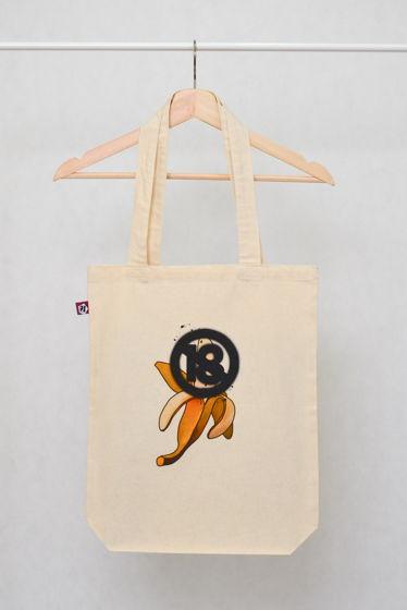 """Вместительная сумка-шоппер """"ОНЛИ 18+"""""""