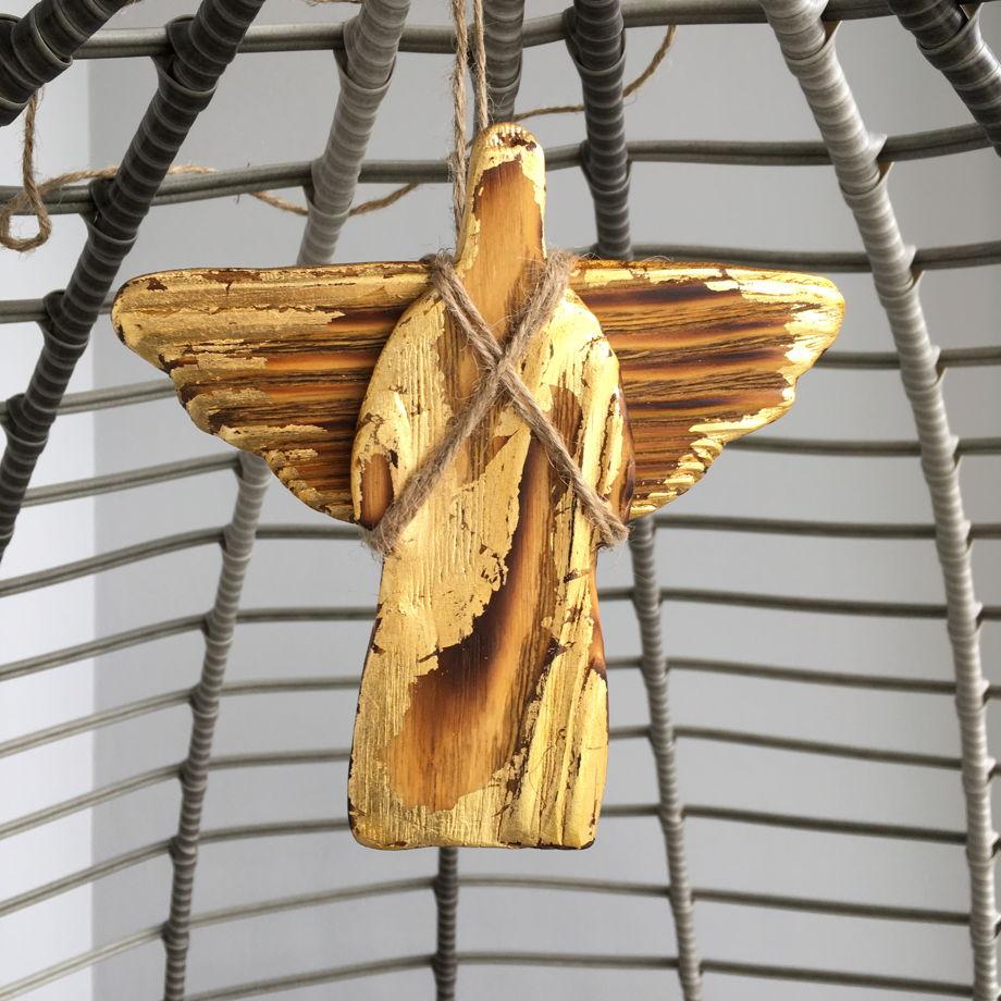 Ангел малый с позолотой