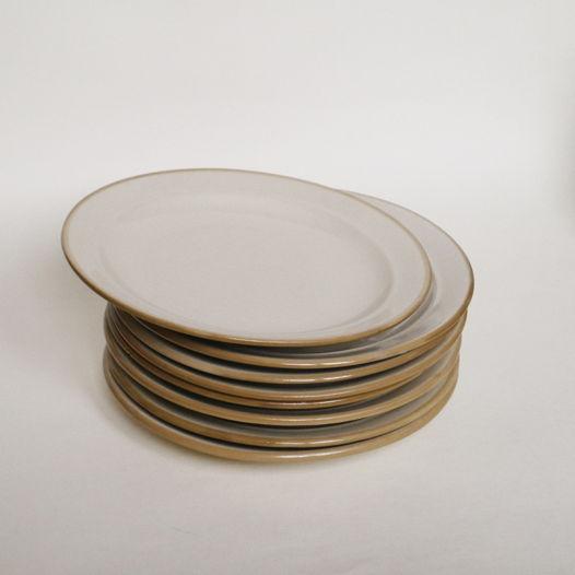 Сет из 6 тарелок. Бугульминский фарфоровый завод
