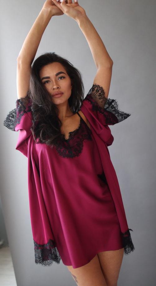 Комплект женский  халат+сорочка