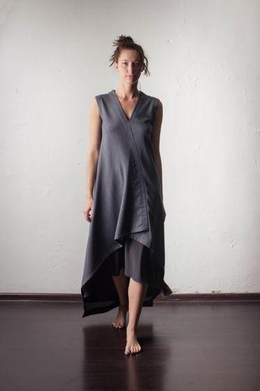 Легкое платье из тонкой шерсти KIT