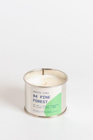 Свеча соевая Smells Like. #4 Pine Forest, 180г