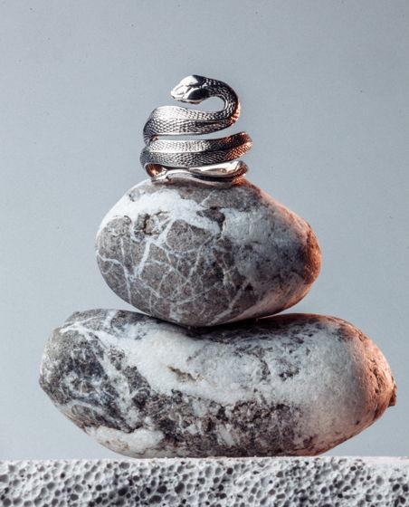 Серебряное кольцо Ananta