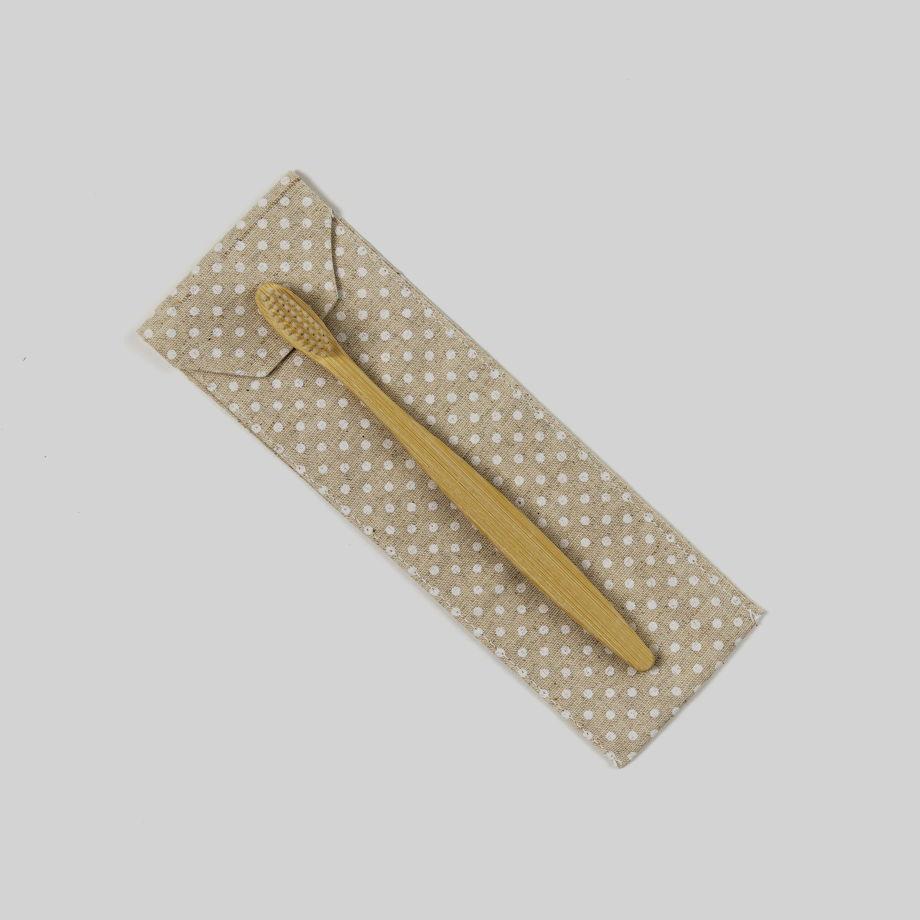 Чехольчик для зубной щетки из льна