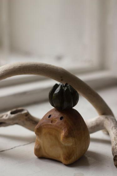 Ом деревянная игрушка