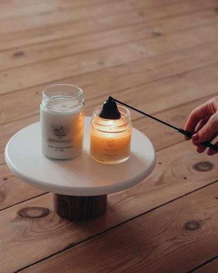 Свеча из соевого воска