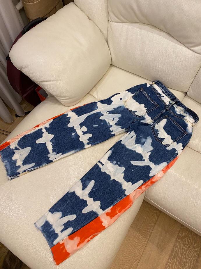 Кастомизированные джинсы KATEPETROV