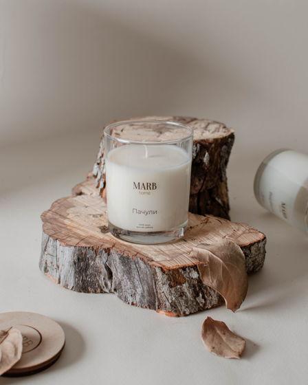 Свеча из натурального соевого воска «Пачули» 250мл