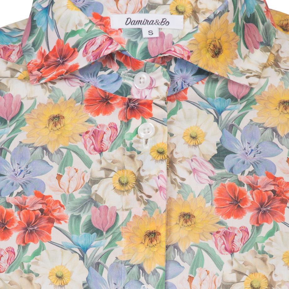 """Хлопковая женская рубашка """"Meadow Melody"""""""