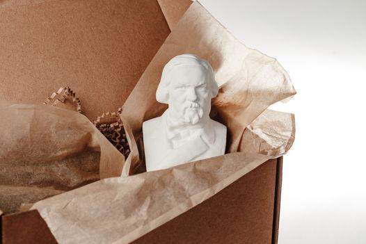 Кабинетная скульптура-саше Глинка М.И.