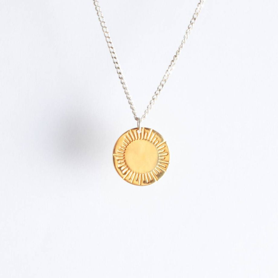 подвеска солнце Apollo Gold (унисекс)