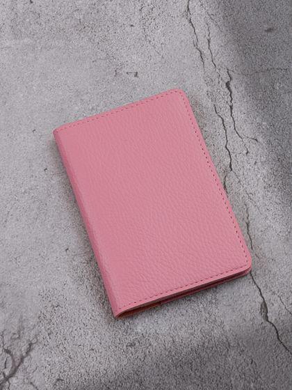 """Обложка для паспорта """"Verona"""" Гермес Нежно-розовый"""