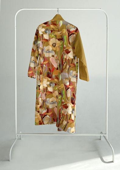 """Длинное кимоно из мягкого хлопка с принтом """"Camo"""""""