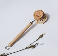 Деревянная щетка для мытья посуды EcoFamily