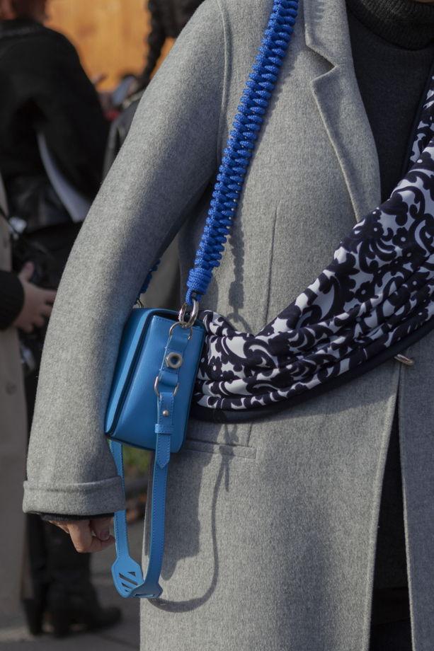 Ремень для сумки плетеный «восьмёрка»