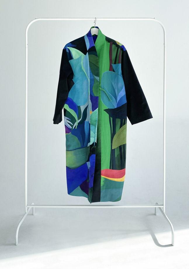 """Длинное кимоно из мягкого хлопка """"Escape long"""""""