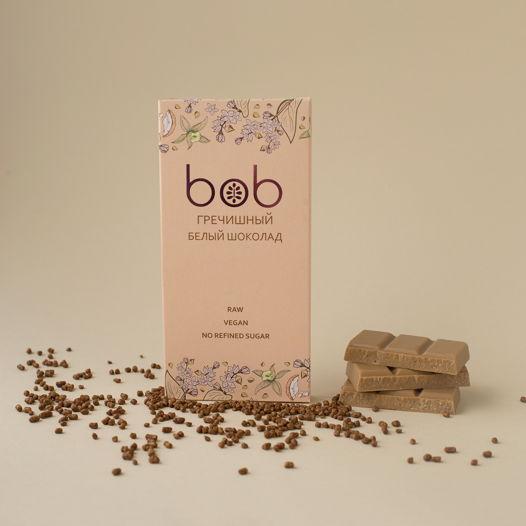 """Шоколад """"Белый на кешью с гречишным чаем"""" , 50 гр."""