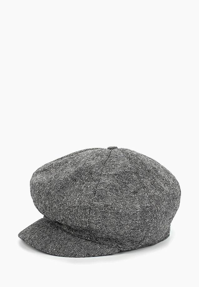 Кепка восьмиклинка из серого твида