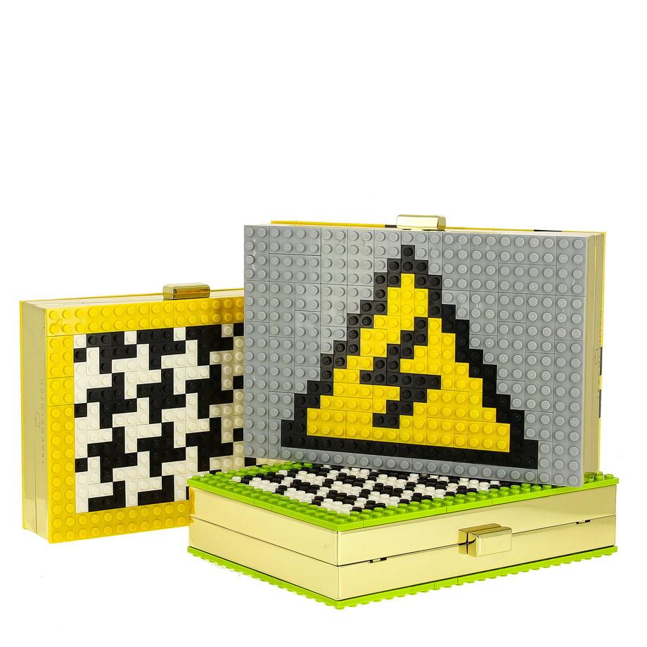 """Клатч. Лего-клатч """"Опасно!"""""""