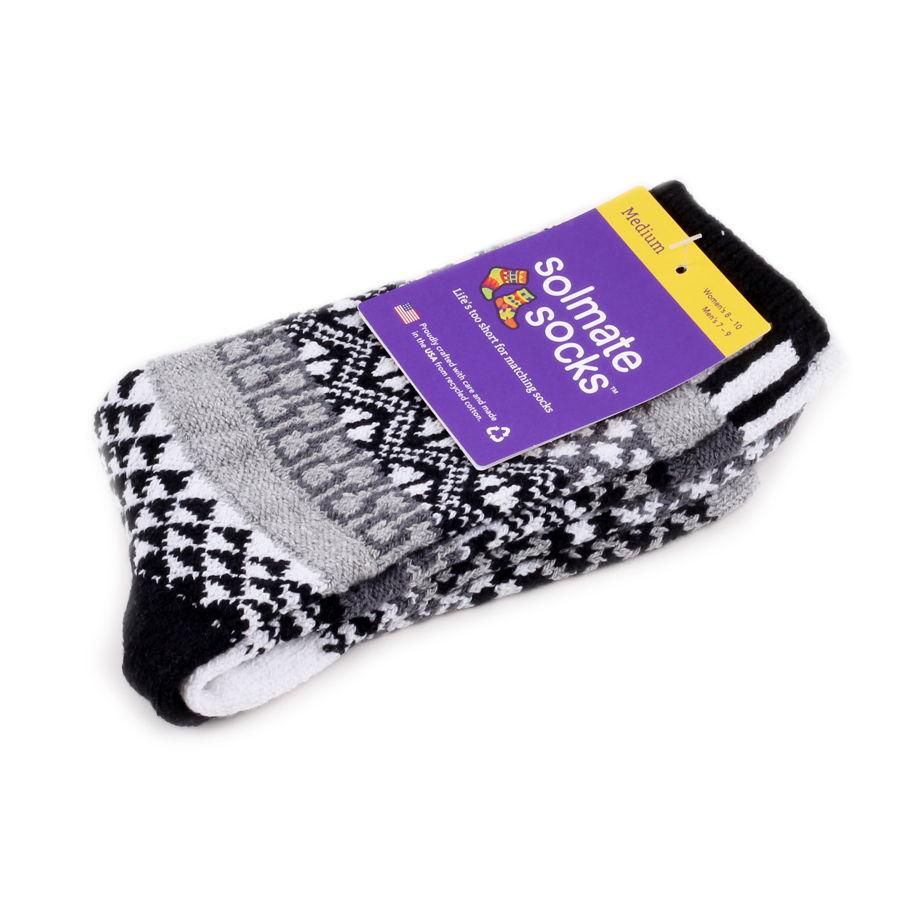 Разнопарные носки Solmate Socks - Midnight