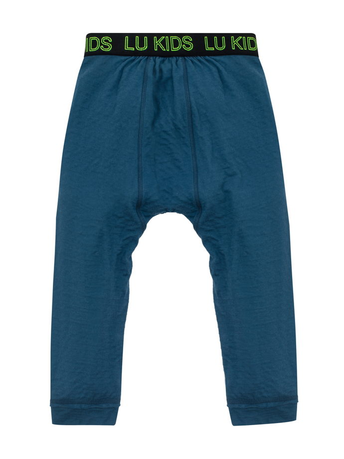 Трикотажные штаны с заниженной проймой