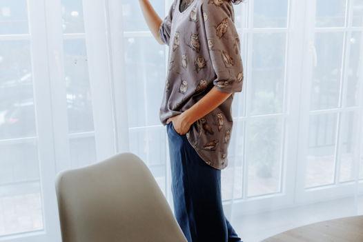 Домашние брюки из вискозы