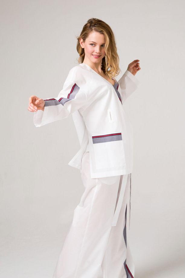 Хлопковое кимоно из 100%  хлопка принт Гуччи.