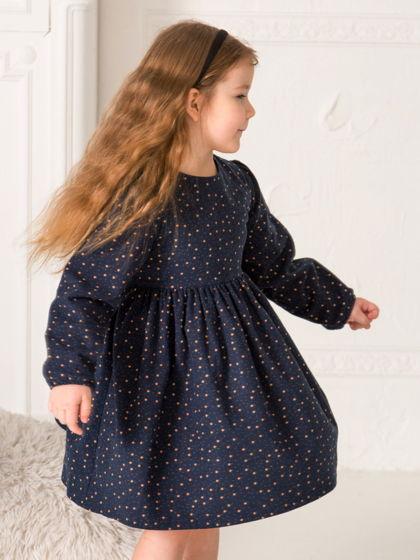 Платье из мягкой фланели со звездочками Star