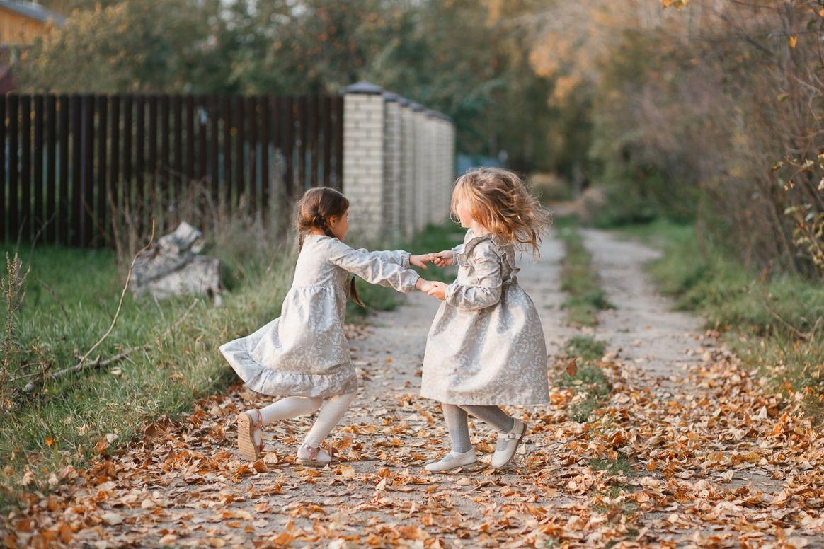 Платье детское льняное из льна/полульна (лён и хлопок)