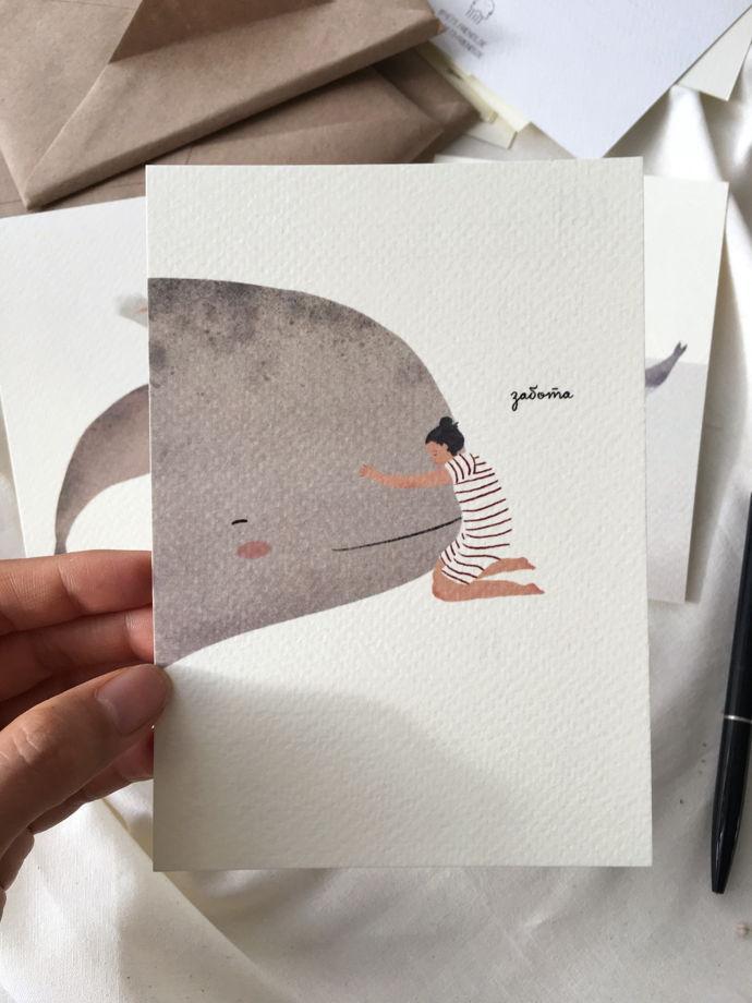 """Набор открыток """"Душевный"""". Доверие, забота, счастье."""