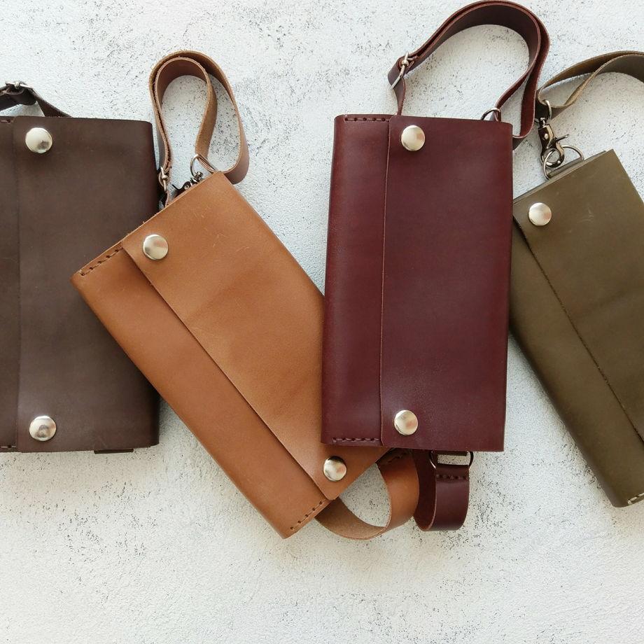 Поясная сумка оливкового цвета
