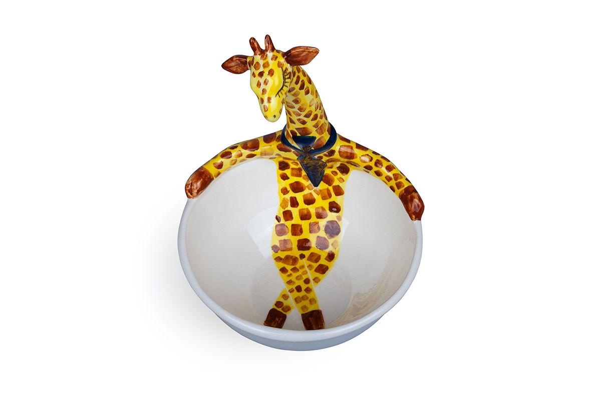 керамическая пиала Жираф
