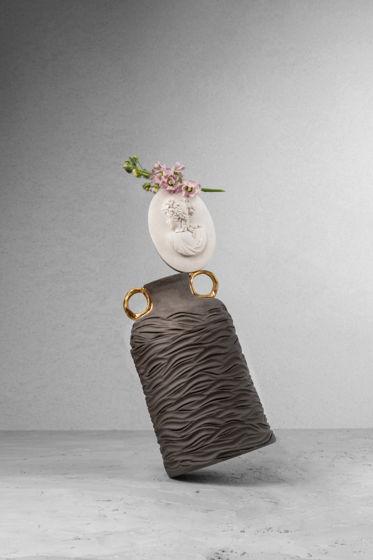 """Интерьерная ваза """"Современный взгляд на античность"""""""