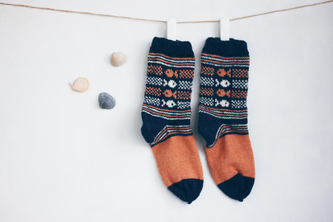 Шерстяные носки / Король-рыбак