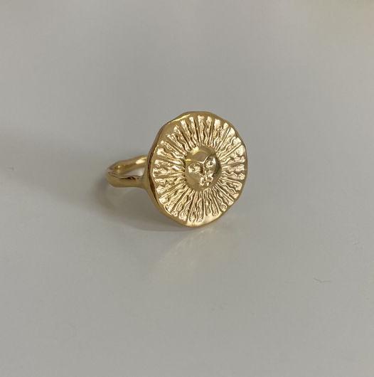 кольцо разъёмное «Солнце»