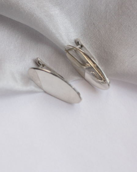 Серьги серебряные Symbola