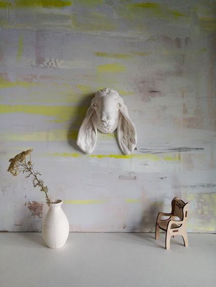 """Скульптура для интерьера """"Овечка вислоухая"""""""