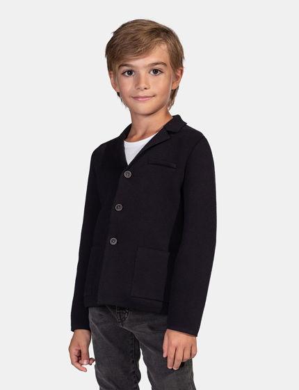 Пиджак в классических цветах из 100% итальянского хлопка
